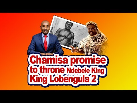 Chamisa Promise to Throne Ndebele King Lobengula 2 at a Rally Event held in Bulawayo, Latest Today