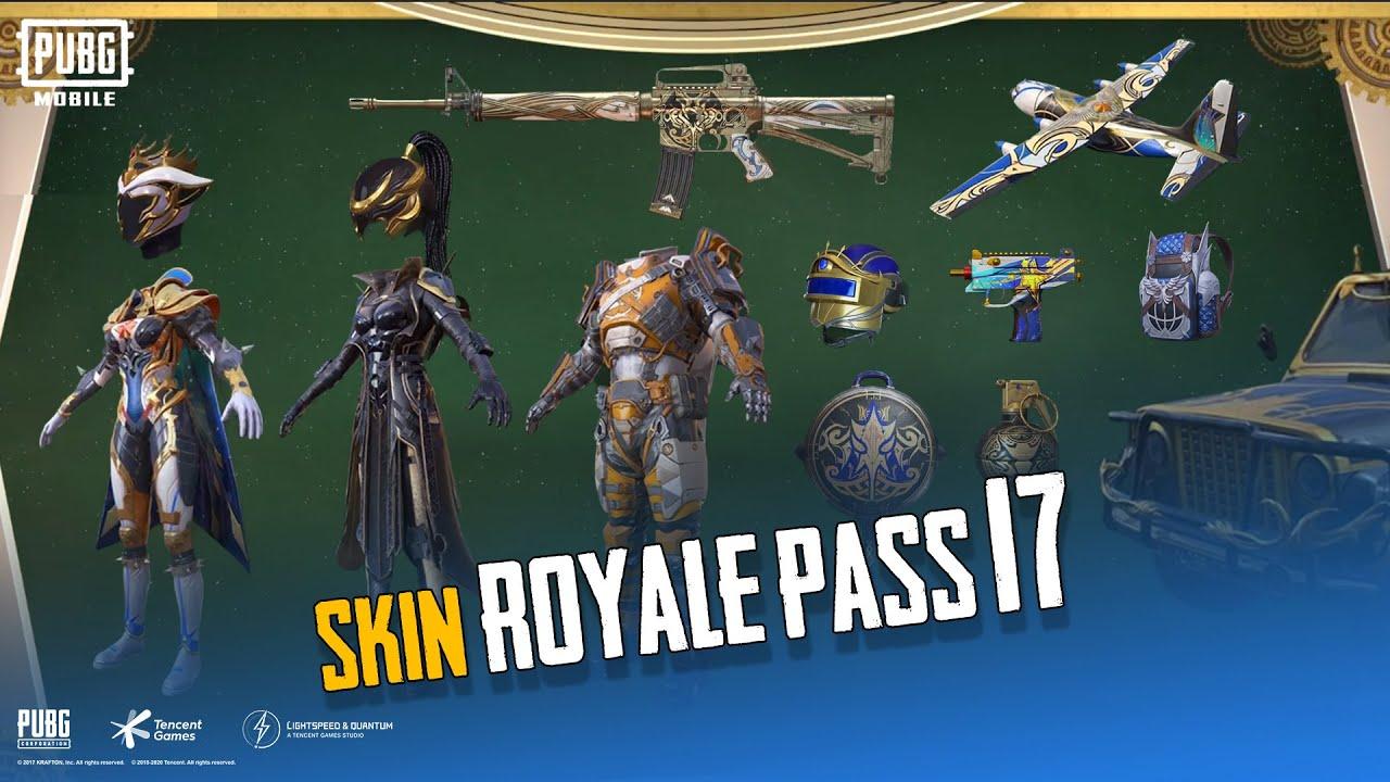 Skin Royale Pass 17! 🧢👕 👖 🔫   PUBG MOBILE MALAYSIA