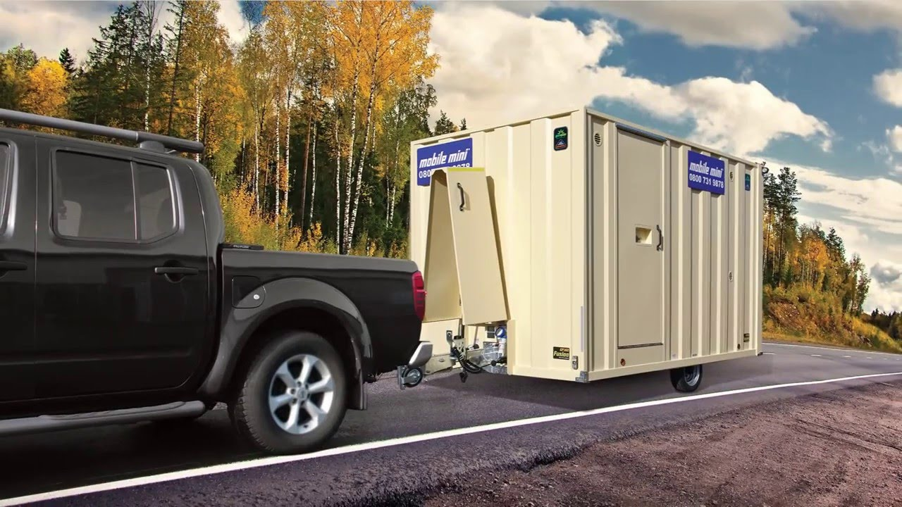 Mobile Mini Groundhog Mobile Welfare Unit Youtube - Mobiles Mini Waschbecken