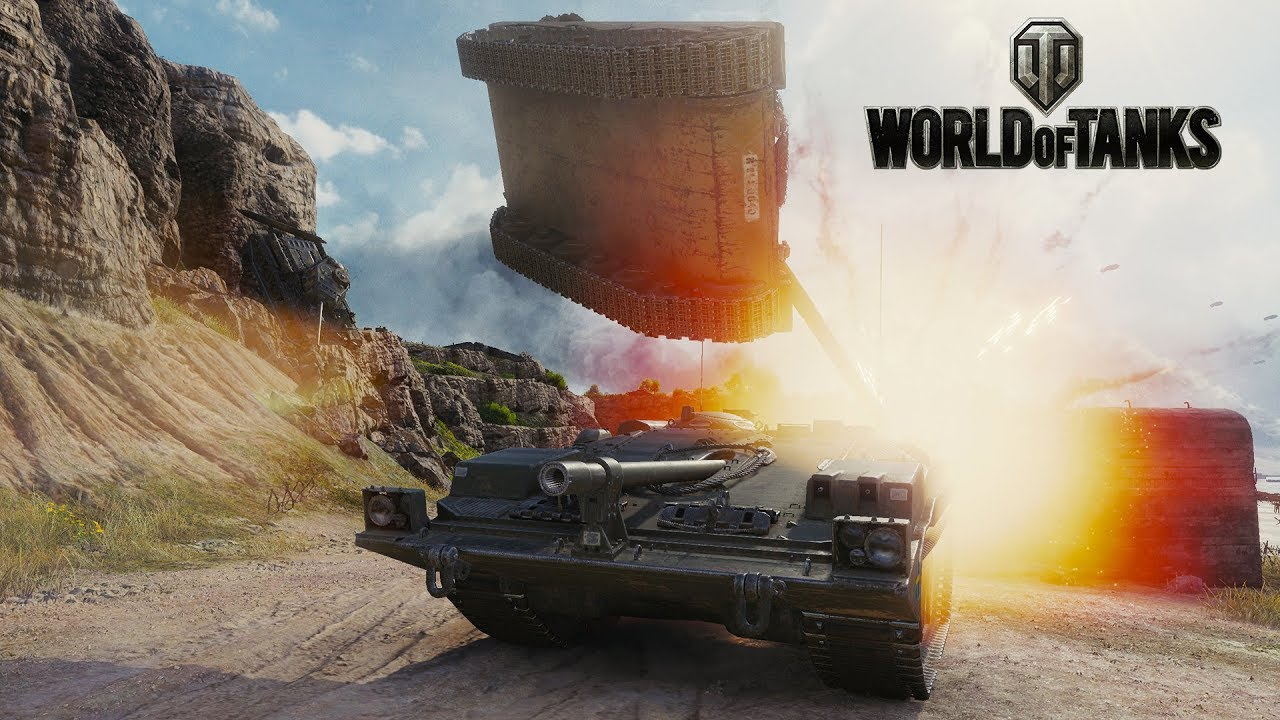 Death From Above! World of Tanks Gameplay