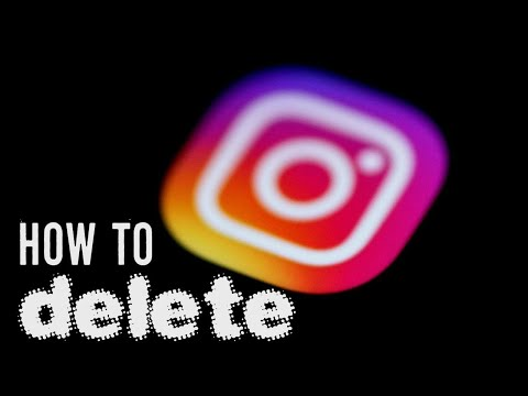 How to Delete Instagram Account on iPhone 2019   Delete Instagram Account Permanently iOS App