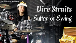 Sultans of Swing ~ Dire Straits // Drum cover by Kalonica Nicx