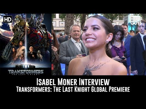 Isabela Moner Transformers: The Last Knight Premiere Interview