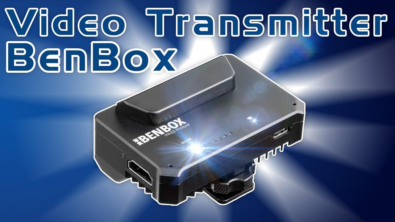Günstiger Video Transmitter, nicht nur für Kameras - Benbox mit FullHD Bildübertragung