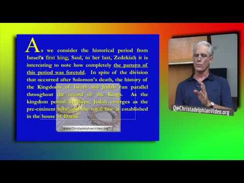 1st Principles Class 8   The Kingdom Period  Basic understanding of the Bible 1