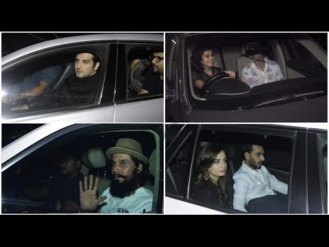 Bollywood Celebs Attend Christmas Party At Vashu Bhagnani House -  Hd