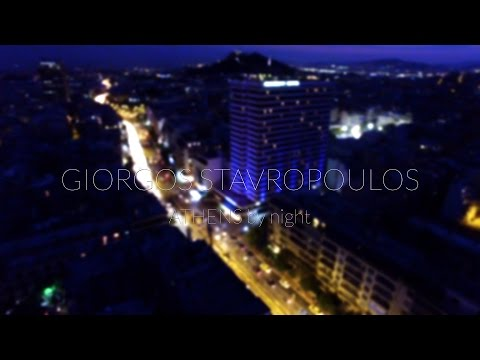 Athens by night 4K