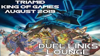 Triamids August King of Games! So Consistent! {Yu-Gi-Oh! Duel Links}
