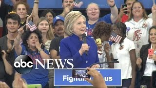 Hillary Clinton Becomes First Woman Nominated as Presidential Candidate