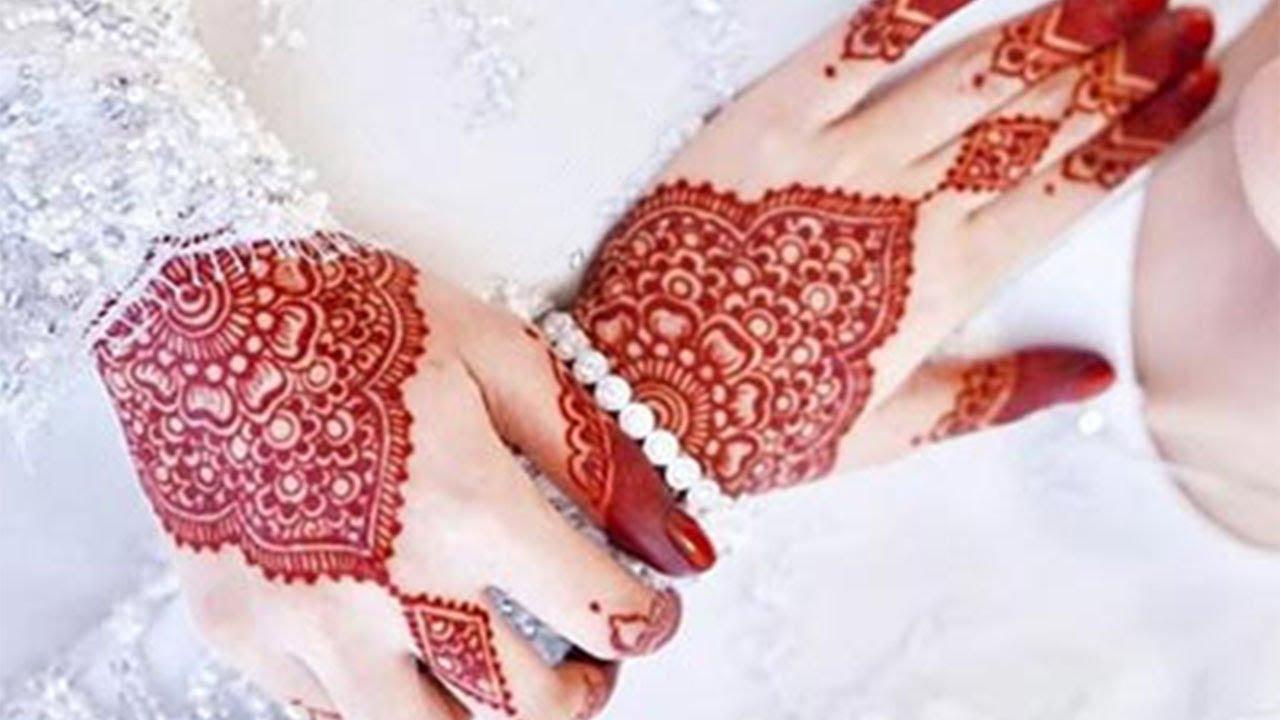 आसान शेडेड मेहँदी डिज़ाइन - Easy Arabic Wedding Mehndi Design- Stylish Backhandअरेबिक दुल्हन मेहँदी