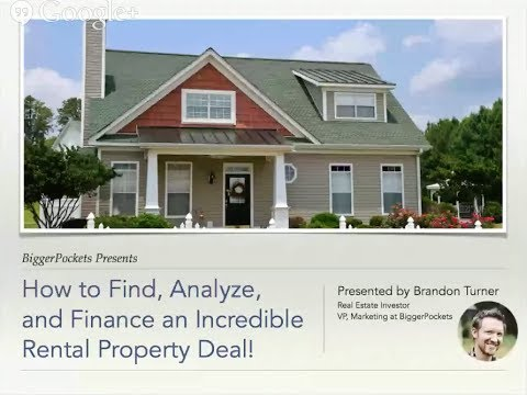 [Replay] How to Find, Analyze, and Finance an Incredible Rental Property Deal