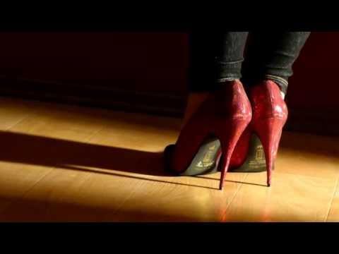 Snapshot #10 - Red Shiny Stiletto High Heels