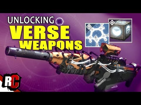 How to unlock VERSE WEAPONS | Destiny 2 Curse of Osiris (Lost Prophecy Verse 1)