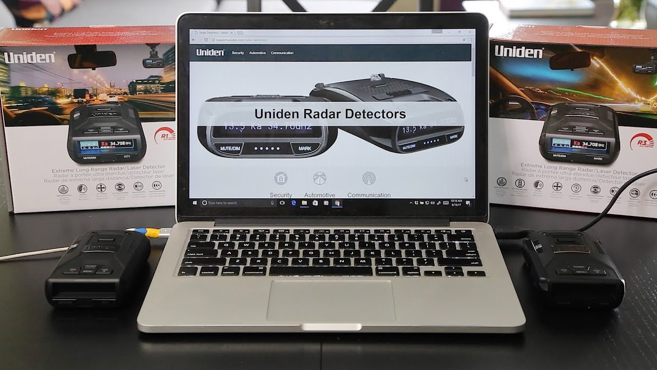 How to Update the Firmware on the Uniden R1 & R3