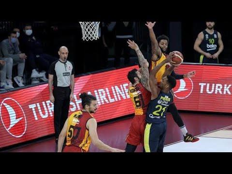 Fenerbahçe Beko vs Galatasaray Full İzle | TBL 30.Hafta | 4 Mayıs 2021