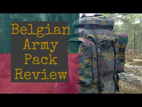 Giant Belgian Army BackPack M97 Review