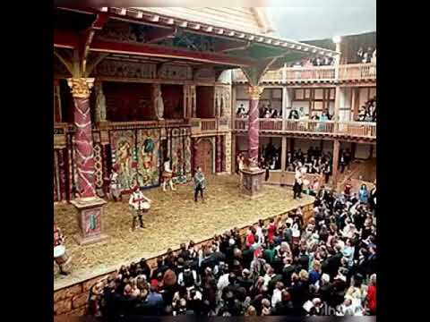 The structure and architecture of The Globe Theatre