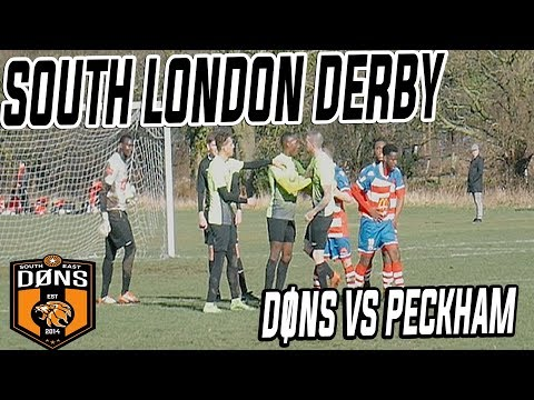 SE DONS vs PECKHAM - MAJOR SOUTH LONDON RIVALS - Sunday League Football