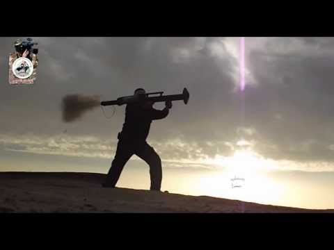 Gaza Militant Group Mujahideen Brigades Unveils New Local Made Anti Tank Missile Launcher Sair