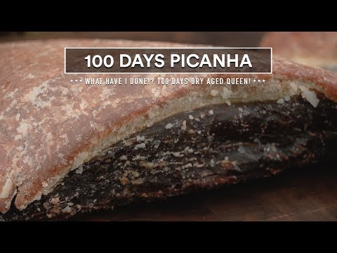 100 Days DRY-AGED PICANHA Experiment!