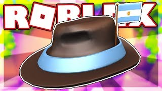 [FREE ITEM] HOW TO GET THE INTERNATIONAL FEDORA - ARGENTINA | Roblox