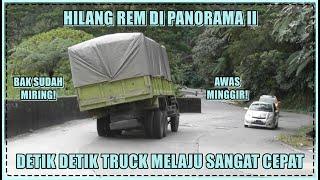 Download Hilang Rem di Panorama II, Detik Detik Mengerikan Dump Truck Melaju Sangat Cepat di Sitinjau Lauik