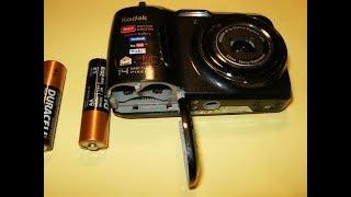 видео Ремонт фотоаппаратов Kodak