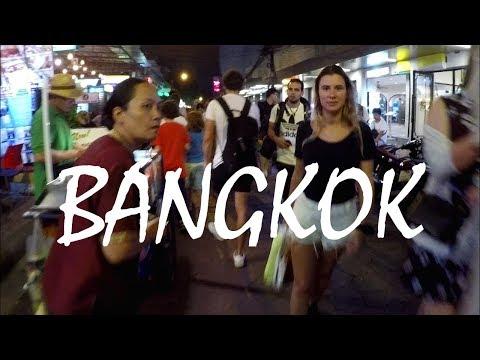 Bangkok, THAILAND: The Wild Nightlife Street Scene