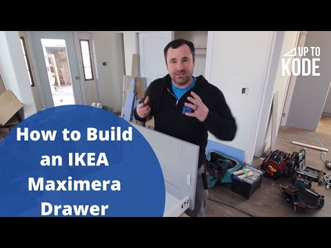 How to Build an IKEA Maximera Drawer
