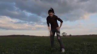 Вечерняя пробежка в деревне