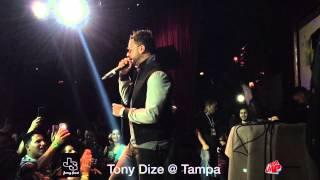 Tony Dize -Prometo Olvidarte en Vivo