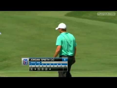 Shot of the Day: 17-year-old Jordan Spieth saves par at HP Byron Nelson 2011