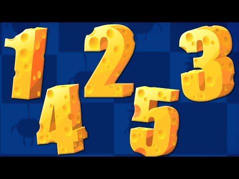 Ten Little Numbers | Learn Numbers | Nursery Rhymes | Songs For Children By Bud Bud Buddies