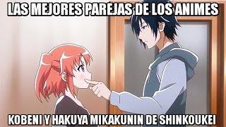 Las Mejores Parejas De Los Animes: Hakuya Y Kobeni Mikakunin De Shinkoukei