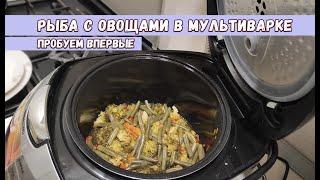 Впервые готовлю в мультиварке Рыба с овощами из мультиварки рецепт придуманный из того что было