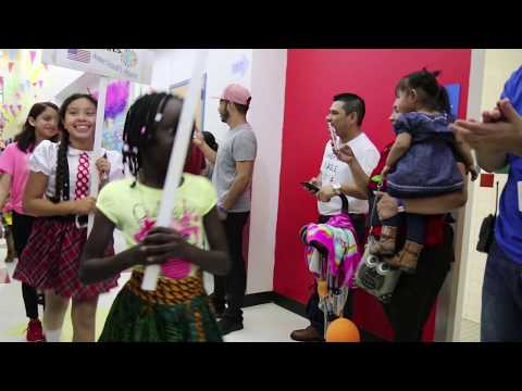Anne Frank Elementary School's Cultural Diversity Night