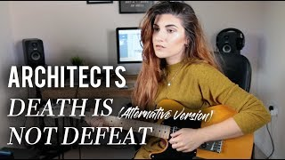 Architects - Death is Not Defeat cover | Christina Rotondo