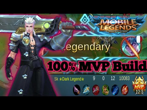 Mobile Legends 100 MVP Build Alucard 0 Death Gameplay