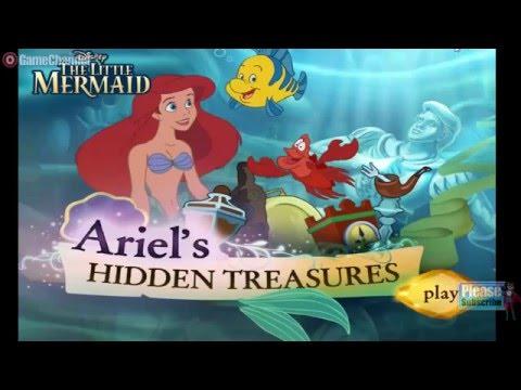 Girl Games Mermaid Games The Little Mermaid Ariel's Hidden Treasures