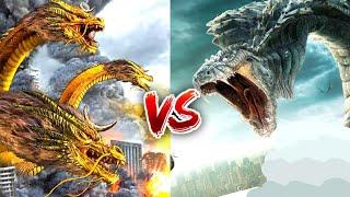 Void Ghidorah vs Celestial Dragons    Dragon vs Dragon    multi versh