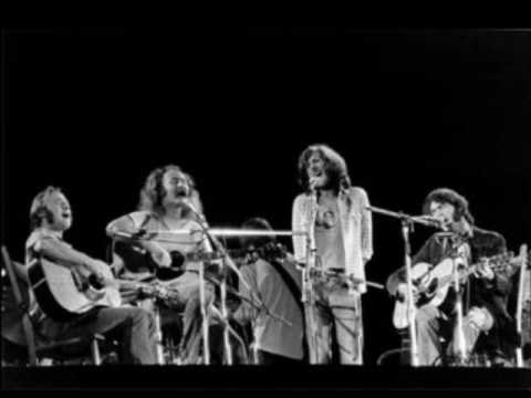 CSN&Y with Dallas Taylor(perc.)&Gregory reeves(bass) ''Almost cut my hair'' from ''Deja vu'' ('70.)
