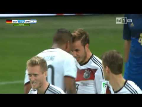 Gol Mario Gotze FINAL WORLD CUP 2014 ITA