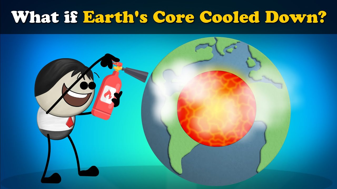 What if Earth's Core Cooled Down? + more videos   #aumsum #kids #science #education #children