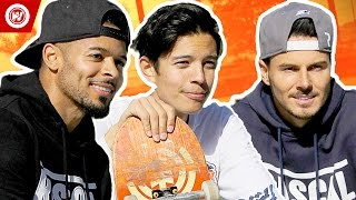 F2 Freestylers vs. Chris Chann | F2 GOES HOLLYWOOD