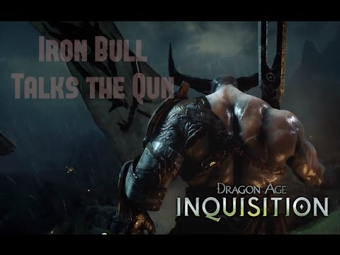 dragon age inquisition iron bull flirt Cassandra and bull flirting is my favorite thing ever i imagine if your inquisitor is a dalish mage then there's a part of minaeve have him team with the iron bull, blackwall, and dorian() manly men and a relatively manlymage but in dragon age, the qunari really are a homogenous culture walking.