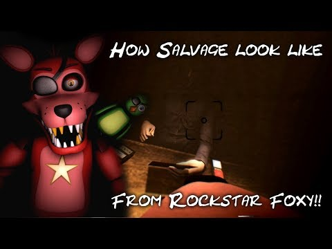 [FNAF/SFM] FNAF6 ROCKSTAR FOXY SALVAGE!! - View from animatronic