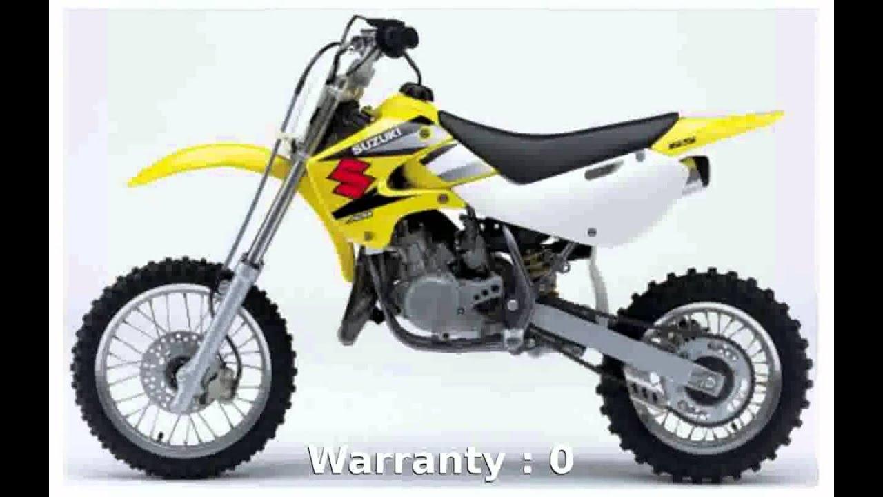 motosheets] 2005 Suzuki RM 65 - Features - YouTube