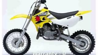[motosheets] 2005 Suzuki RM 65 - Features