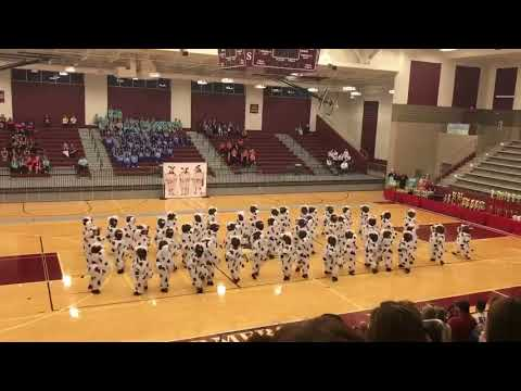 Dance Team Performs Routine Dressed as Cows - 985449