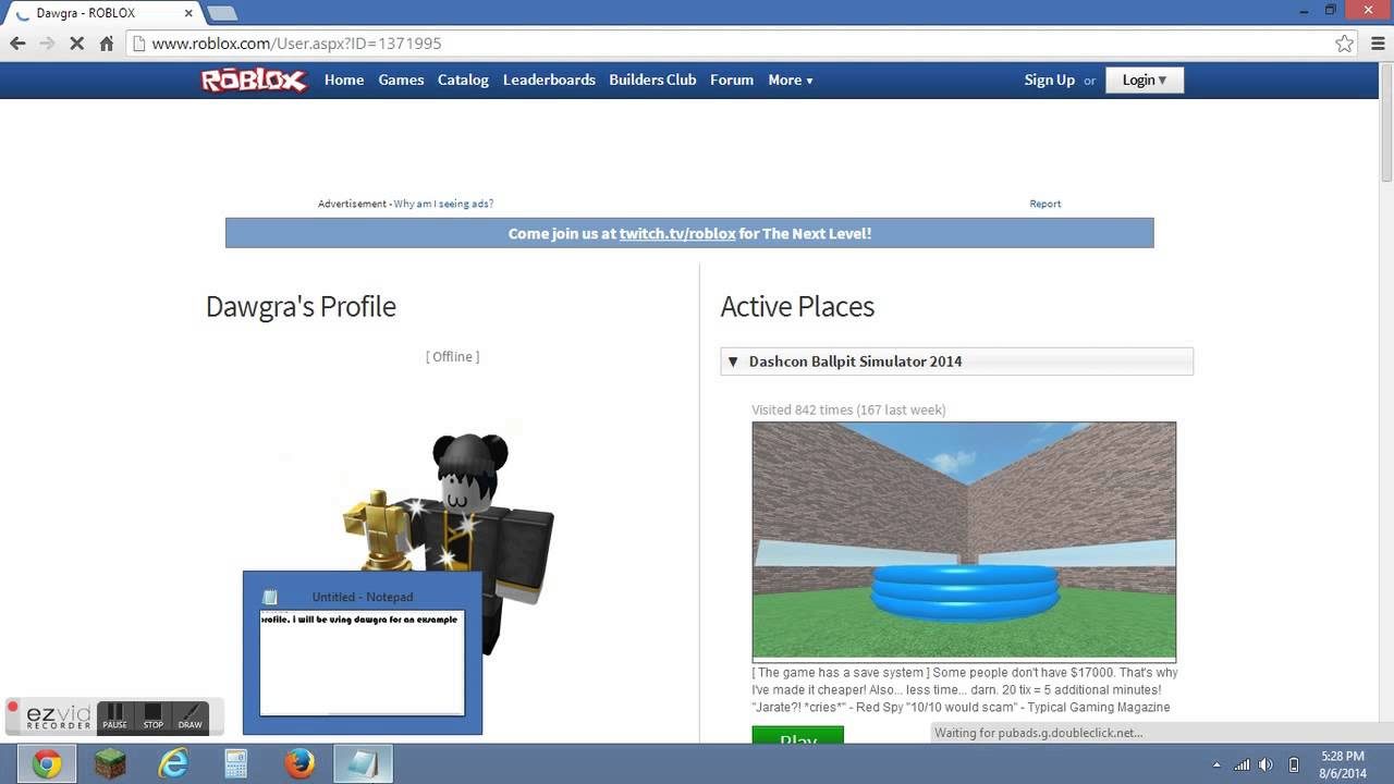 Roblox How To Get Someones User ID ( FOR MY SCRIPT )